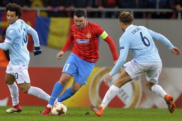 Europa League, șaisprezecimi de finală: FCSB - Lazio 1 - 0