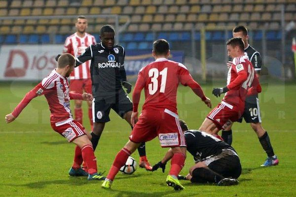Liga 1, etapa 18: Sepsi Sfântu Gheorghe - Gaz Metan Mediaş 0-0
