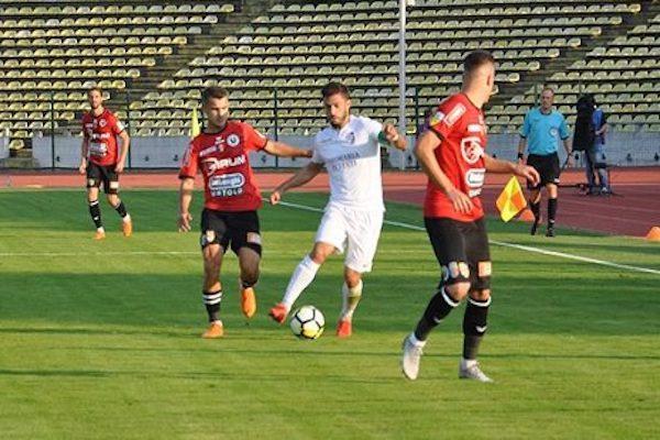 Etapa 1: Concordia Chiajna - ACS Poli Timişoara 0 - 1