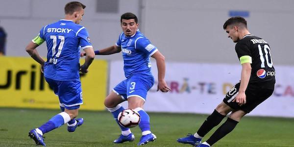 Cupa României, semifinale, tur: Universitatea Craiova - FC Viitorul 1-2